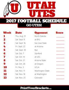 college tv schedule utah football forum