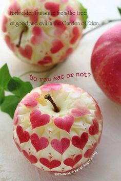 La manzana del amor.