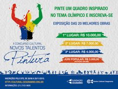 Agenda Cultural RJ: Novos Talentos da Pintura – 2ª Edição (2015) - Con...