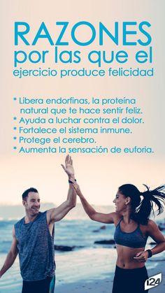 Por eso debemos seguir haciéndolo con más ganas #DiaDeLaFelicidad #Happy #Felicidad #Razones #Ejercicio
