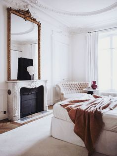 {décor inspiration | ornate austerity : by gilles et boissier, paris} by {this is glamorous}, via Flickr