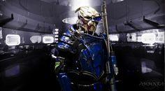 Garrus! Mass Effect Cosplay