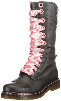 Pink Docs!  So pretty and so tough!  Potential wedding boots perhaps? Amazon.com: Dr. Martens Women's Triumph 1914 W Boot: Shoes