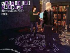 Magic/summoning circles at The Path Of Nevermore via Sims 4 Updates