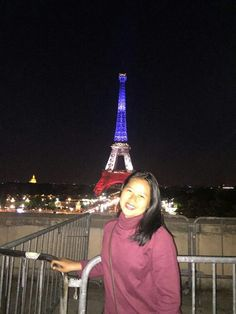 Midnight eiffel tower ,paris