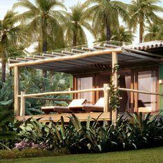 txai itacaré - Pesquisa Google Jungle House, Forest House, Backyard, Patio, Beach Resorts, Rustic Style, Decoration, Gazebo, Beach House