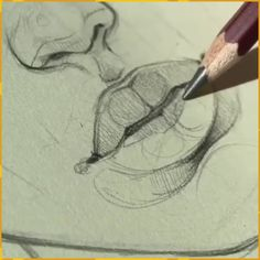 drawing lips step by step ; drawing lips step by step easy ; drawing lips step by step cartoon ; drawing lips step by step mouths Pencil Art Drawings, Art Drawings Sketches, Illustration Sketches, Animal Drawings, Pencil Sketch Drawing, Easy Drawings, Drawing Lips, Doodle Drawings, Tattoo Sketches