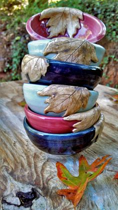 Hey, I found this really awesome Etsy listing at https://www.etsy.com/listing/164117479/nature-series-sauce-bowls