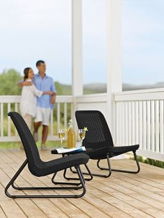 b71db0766d6 Patio Bench for 2 Person Brown SUPERJARE Outdoor Swing Glider Chair Garden  Rocking Seating