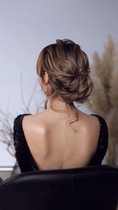 Hairstyle For Women - Haare - Hochzeitsfrisuren-braided wedding updo-Wedding Hairstyles Diy Wedding Hair, Bridal Hair, Box Braids Hairstyles, Wedding Hairstyles, Rock Hairstyles, Medium Hair Styles, Curly Hair Styles, Hair Upstyles, Short Hair Updo