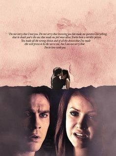 Elena and Stephan need to be together. Damon needs to go.Now.