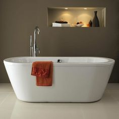 free standing baths premier double ended modern