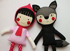I personaggi di stoffa handmade firmati Blita