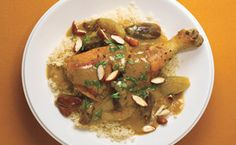 Braised Chicken with Dates and Moroccan Spices / Kiyoshi Togashi