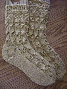 Knitting Patterns Socks Ravelry: Project Gallery for TTL Mystery Sock 2010 pattern by Kirsten Kapur Crochet Socks, Knitted Slippers, Wool Socks, Slipper Socks, My Socks, Knitting Socks, Hand Knitting, Knitting Designs, Knitting Projects