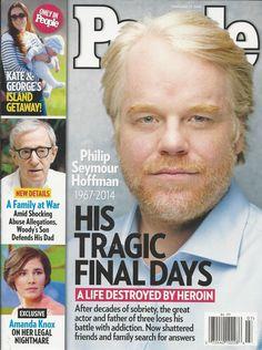 People magazine Philip Seymour Hoffman Kate Middleton Woody Allen Mia Farrow