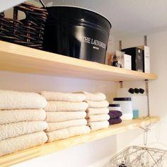 収納/同じものを並べたい/見せる収納/バス/トイレのインテリア実例 - 2013-09-01 07:42:18 | RoomClip(ルームクリップ)