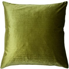 This rich, chartreuse green velvet pillow is a wonderful accent piece. The inch size is perfect for layering with larger pillows or as a stand alone on a sofa or chair. Size: 16 x Pattern: Solid Color. Green Velvet Pillow, Velvet Pillows, Blue Velvet, Large Pillows, Decorative Pillows, Throw Pillows, Machine Wash Pillows, American Decor, Living Room Sets