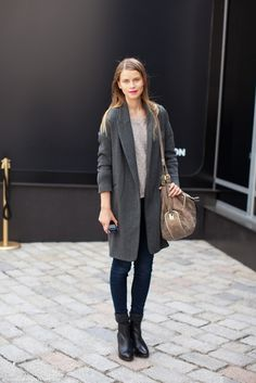Simple, long, chic