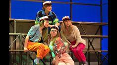 """""""Vi maler byen rød: The Musical"""", Folketeatrets Store Turnéscene 2014. Læs mere på:  http://musicalteatret.dk + http://facebook.com/musicalteatret"""