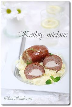 Kotlety mielone domowe Meat Recipes, Camembert Cheese, Dairy, Cooking, Food, Poland, Balls, Smile, Kitchen