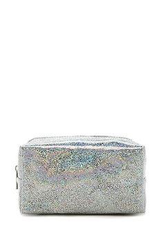 Holographic Glitter Makeup Bag