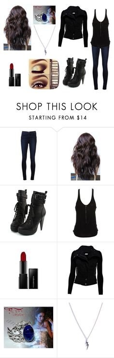 """Salvatore family reunion"" by lostprincessofthesea ❤ liked on Polyvore featuring J Brand, Acne Studios, Illamasqua, Lazuli and Diane Kordas"