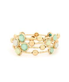 GOING GIRLY: Beautiful Feminine Layering Bracelets