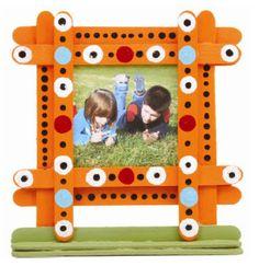 Nicole™ Crafts Craft Stick Frame #kids #craft