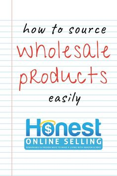 What to do when Ebay and Amazon FBA wholesale product sourcing goes wrong! Buying wholesale to resell can make money online from home when done right. Making money flipping wholesale products is great for an FBA seller business looking to scale up quickly. Become the next ecommerce entrepreneur success story by avoiding the fake wholesale mistake. Read more from Jordan Malik at Honest Online Selling. Your trusted resource for remarkable and proven ways to make a living with Amazon & Ebay. Make Money On Amazon, Make Money Online, How To Make Money, Wholesale Products, Buying Wholesale, Selling Online, Selling On Ebay, Retail Arbitrage, Amazon Fba