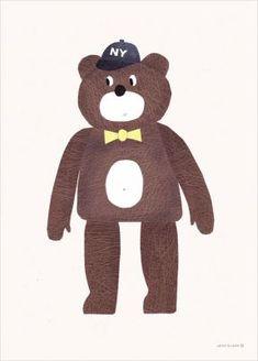 The Bear Poster (50x70cm)