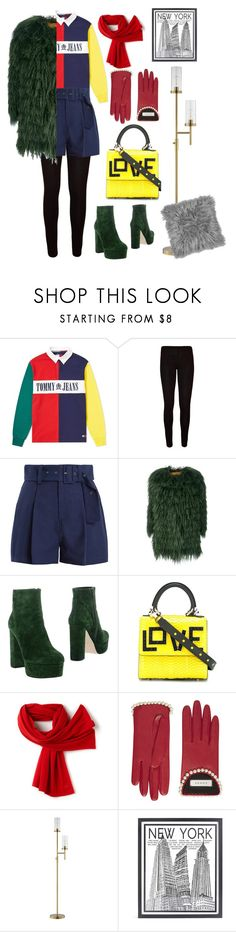 """❄️"" by nabilanabnis on Polyvore featuring Tommy Hilfiger, WearAll, Sea, New York, Alessandra Chamonix, Anna F., Les Petits Joueurs, Lacoste, Gucci, JAlexander and Stephenson"