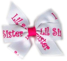 Big Sister/Little Sister Hair Bow