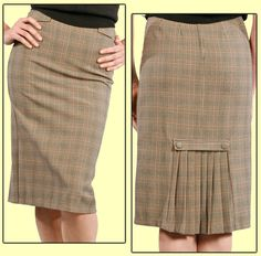 retro skirt - I sewed a skirt that looked just like this style - mine was in a solid color.