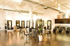 the Preece & Toff Salon at Fred Segal in Santa Monica featured in Jada Beauty