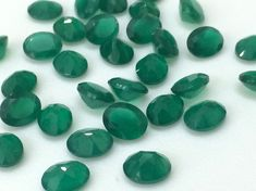 WHOLESALE 50 Pcs 100 CTW Green Onyx Cabochons by gemsforjewels