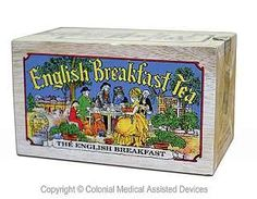 Specialty Tea in Softwood Box - English Breakfast Tea - http://teacoffeestore.com/specialty-tea-in-softwood-box-english-breakfast-tea-2/