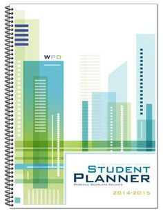Well-Planned Day Student Planner (Tech Style, July 2014-June  2015)  -     By: Rebecca Scarlata Keliher