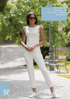 Clothing Co, Magenta, White Jeans, Shoulder, Pants, Clothes, Tops, Fashion, Trouser Pants