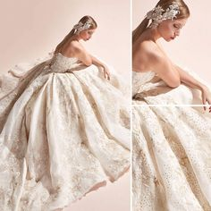 Wedding dress inspiration by Dar Al Hanouf