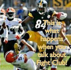 dd7ac67cfb3 Antonio Brown Kick, Steeler Nation, Cleveland Browns, Espn, Football  Helmets, World