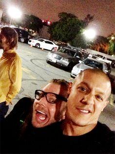 Ryan Hurst & Theo Rossi  Opie & Juice <3