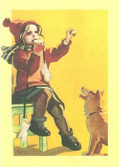 Children's Films, Art Nouveau, Inspiration Art, Picasa Web Albums, Old Paintings, Illustrations And Posters, Funny Art, Christmas Art, Vintage Postcards