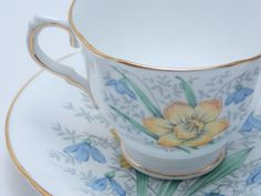 Sutherland HM Vintage Fine Bone China Tea Cup by TheVintageFind1, $28.00