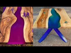 All WoodWorking Ideas & Crafts – Woodworking Projects & Tools Woodworking Bar Clamps, Woodworking Jobs, Easy Woodworking Projects, Resin Table Top, Epoxy Resin Wood, Custom Dining Tables, Easy Wood Projects, Wood Creations, Wooden Jewelry Boxes