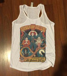 SALE - Hocus Pocus Halloween Shirt - Sanderson Sisters Performance Poster Tank