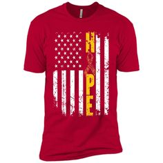 Childhood Cancer Awareness Hope Flag T-shirt