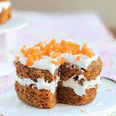 Five Minute Carrot Cake for One