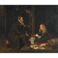 Alfred Dixon - Playing Cards With Father