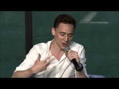 Tom Hiddleston´s impression of Chris Evans - YouTube